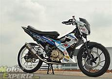Fu Modif Simple by Suzuki Satria Fu Modif Road Race Trail Dan Touring