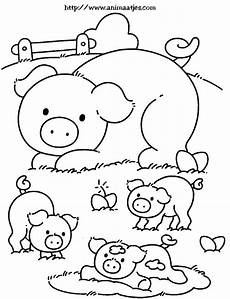 pig coloring page folhas para colorir animais para