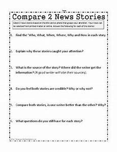 media literacy worksheets and task cards by worksheet