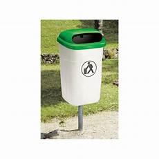 poubelle de rue mobilier urbain poubelle en plastique