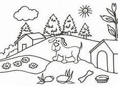 gambar rumah untuk anak sd contoh o