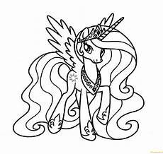 Ausmalbilder Pony Prinzessin 18 Fresh Ausmalbilder My Pony Prinzessin Celestia