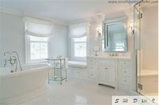 Traditional All White Bathroom Ideas by Master Bathroom Ideas For White Interior