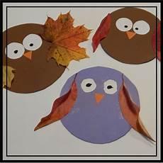 Herbst Basteln Kinder - familie und mehr naturbasteln herbst eulen f 252 r kinder