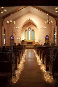 and dan simple church wedding wedding aisle