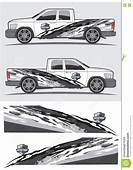 Truck And Vehicle Decal Graphic Design Stock Photography