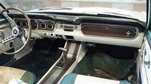 1964 1/2 Mustang Convertible V8 Barn Find Untouched Low