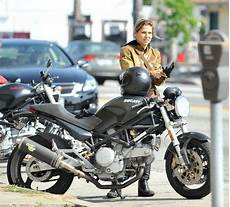 Gal Gadot Ducati Cafe Racer Motorcycle Ducati