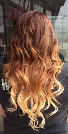 Ombre Hair Auf Gef 228 Rbtem Haar Haare F 228 Rben Braun