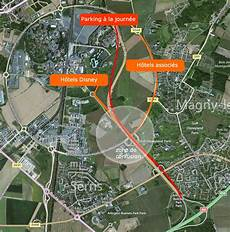 Itinraire Disneyland Adresse Plan D Accs Carte Gps
