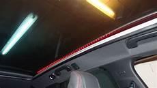 Bande Leds Le Du Toit Panoramique Sur Peugeot 308 Gt