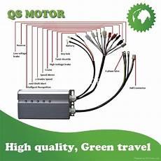 2000w 72v bldc motor controller hihg power e scooter controller qs hub motor qs hub motor