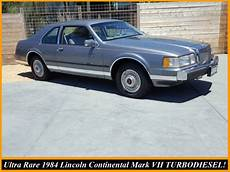 free car repair manuals 1984 lincoln continental seat position control ultra rare 1984 lincoln continental mark vii turbodiesel only 71k miles ca car for sale