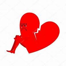Symbole Du Coeur Bris 233 De L Amour Non Partag 233 Triste