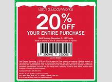 bath and body printable coupons for 2020
