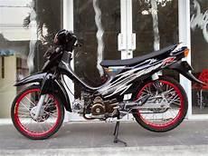 Modifikasi Shogun by Modifikasi Motor Suzuki Shogun 110 Keren Terbaru Otomotiva