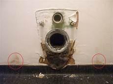 fuite wc suspendu cuvette d 233 mont 233 e