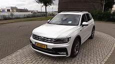 tiguan 2017 r line 2017 volkswagen tiguan r line start up drive in depth