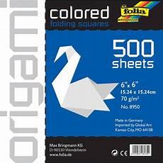 Download Now Origami Paper 500 Folia Solid Origami Paper 6 Quot X6 Quot 500 Pkg Walmart Com
