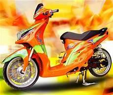 Modifikasi Puli Belakang Mio by Auto Njing Modifikasi Yamaha Mio Brus