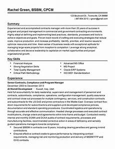contract manager resume printable planner template