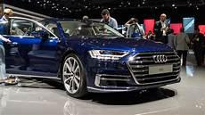 Vorstellung Weltpremiere Des Neuen 2018 Audi A8