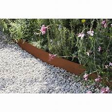 bordure pelouse acier bordure 224 planter aspect rouille acier galvanis 233 marron h