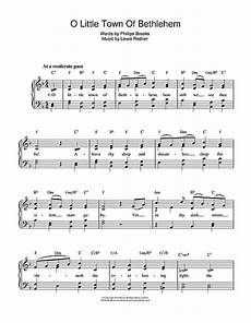o little town of bethlehem sheet music by christmas carol piano vocal 110259