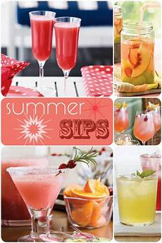 recipes summer sips pizzazzerie