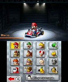 Personnages S 233 Ries Mario Kart