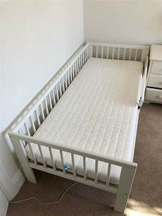ikea gulliver toddler bed with mattress and fitted sheets in redland bristol gumtree