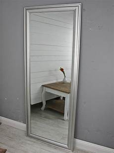 Schlafzimmer Spiegel Groß - spiegel 150 wandspiegel standspiegel silber holz landhaus