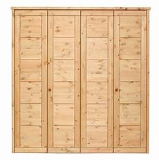 massivholz schlafzimmerschrank 4t 252 rig kiefer massiv