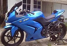 250 Karbu Modif Simple by 250 R Biru Modif Simple Inspirasi Modif