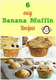 6 easy banana muffin recipes meatloaf and melodrama