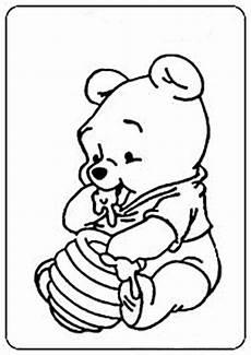 Winnie Pooh Malvorlagen Ausmalbilder Kostenlos Winnie Pooh Baby 12 Ausmalbilder