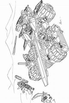 lego ninjago ausmalbilder fahrzeuge amorphi