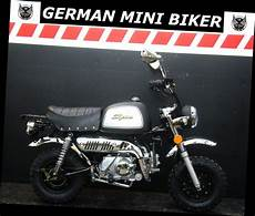 German Mini Biker - gmb skyteam st50 8a skybongo club deluxe quot matt black
