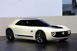 Honda Shows Electric Sports Car Automated Commuter Pod In