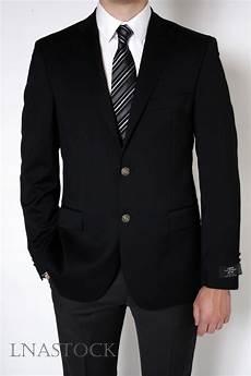 Blazer Noir Pour Homme Et Costume Tissu Cerruti Chez Lnastock