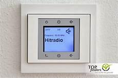medion unterputzradio steckdosen radio mit wlan