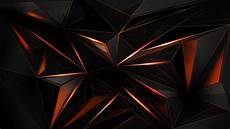 Ultra Hd Black And Orange Wallpaper 4k