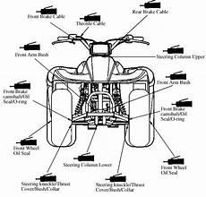 kymco mongoose 250 atv service manual printed by cyclepedia ebay