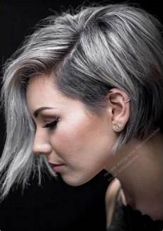 Hairstyles For Grey Hair Gallery