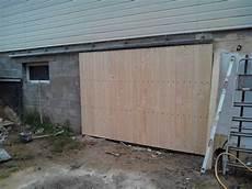 porte extérieure coulissante porte de garage coulissante forum d entraide