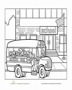 places in the school coloring pages 18035 school coloring page school coloring pages community places teach to