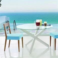 table ronde en verre table ronde en verre design brin d ouest