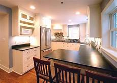 Traditional Kitchen Peninsula by Breakfast Bar Counter Peninsula Traditional Kitchen