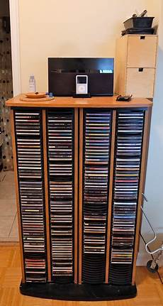 Cd Storage Cabinet By Ikea Holds 688 Cd S For Sale