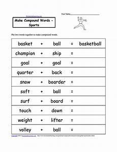 sports related worksheets 15870 sport worksheets for make compound words sports compound words compound words worksheets